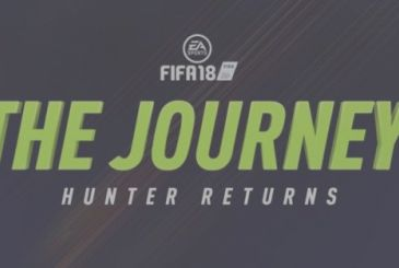 "FIFA 18: new story trailer for the mode ""The Journey: The Return of Hunter"""