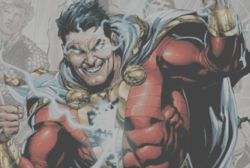 "Shazam!: the director's grappling with the ""special effects"" in a funny video"