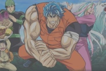Halftime: the color image for the new one-shot of Mitsutoshi Shimabukuro (Toriko)