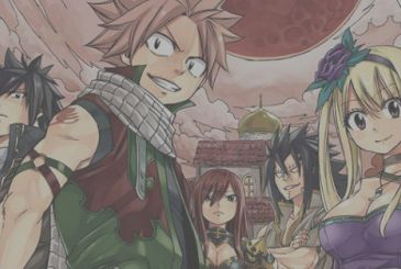 Hiro Mashima (Fairy Tail) at work on his next work