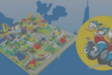 I Love Duckburg, let us build the city of the Ducks with the plastic Centauria