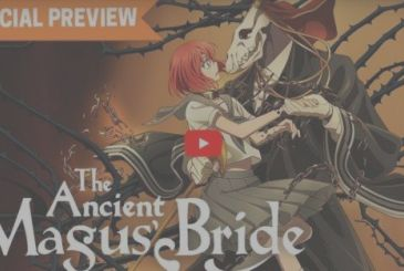 The Ancient Magus' Bride, the official trailer of Crunchyroll for the animated series