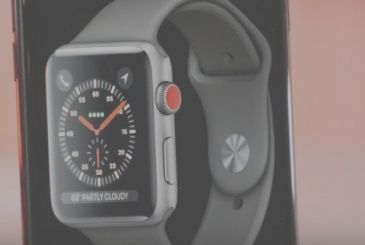 IOS 11, unveils the Apple Watch Series 3 of LTE!
