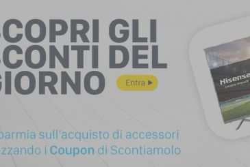 Offers Amazon and our discount codes, September 12 | Scontiamolo.com