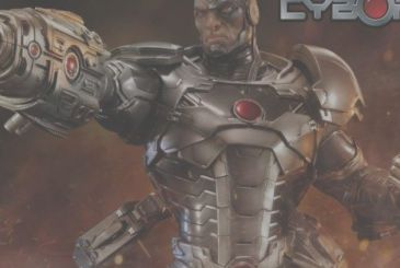 Cyborg, the figures from Prime 1 Studios