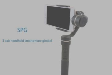 The Gimbal, 3 axis FeiyuTech in promotion 103,99 €