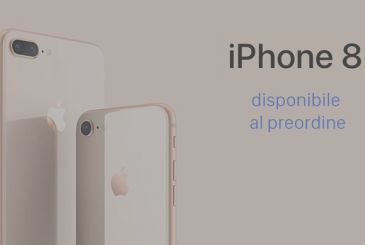 IPhone 8: I'm officially started pre-orders in Italy!