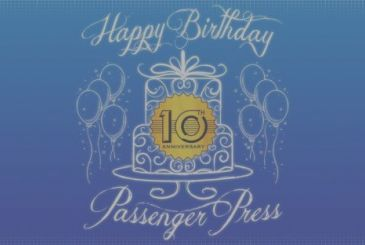 Passenger Press celebrates 10 years with 3 new titles