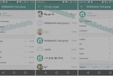 WhatsApp Beta is updated to version 2.17.339 and introduces a manager of the storage