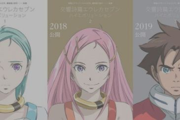 Eureka Seven Hi-Evolution, the music video of the song of the movie