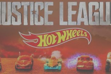 Justice League, the trailer of Hot Wheels