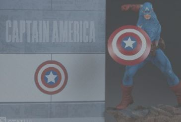 Captain America, new figures from Sideshow Collectibles