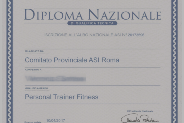 New Course Personal Trainer (Rome, Milan, Padua and Verona)