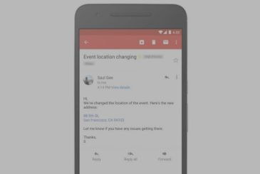 Gmail turns into links phone numbers and addresses (finally!)