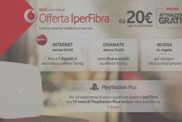 Vodafone is offering the discount to all of the offers ADSL and Fiber, only for today!