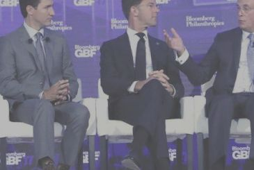 The Canadian Prime Minister, surprised everyone with the socks Chewbacca