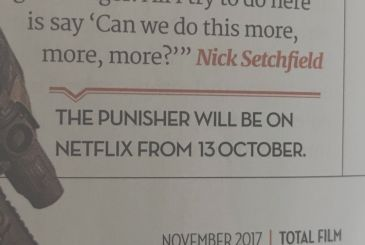 The Punisher: (maybe) we have a release date
