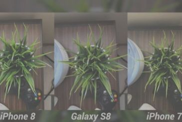 Cameras comparison between the iPhone 8, samsung Galaxy S8 and iPhone 7
