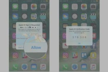With iOS 11 and macOS 10.13 get the authentication in two-factor!