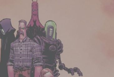 Black Hammer: in April, the second series Age of Doom