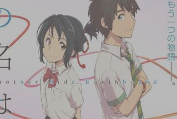 Your name, the manga parodies the announcement of an american remake