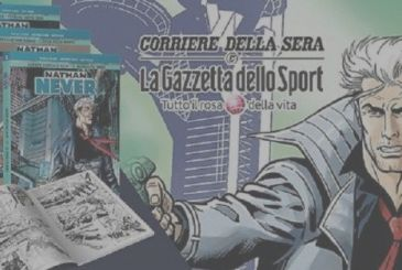 Nathan Never: the official press release of the series on sale with Corriere della Sera and La Gazzetta dello Sport