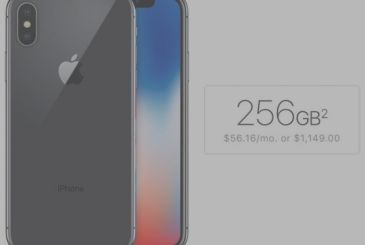 IPhone X, for now, users prefer the option of 256 GB