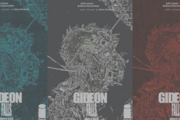 Gideon Falls: Lemire & Sorretino together for a new horror Image