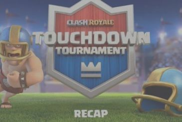 Clash Royale: in the new mode Touchdown