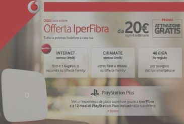 New discounts on Vodafone ADSL and Fiber valid only for today!