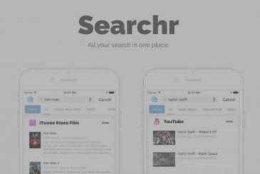 Searchr, the app that challenge Spotlight of Apple!