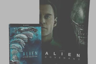 Alien Collection: the entire saga edition steelbook in the Geek Mix Amazon!