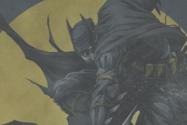Batman Ninja, the look of the Dark Knight in the first poster of the animated film