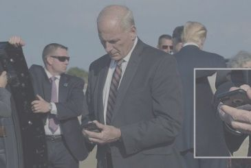 The chief of staff of the White House has used for months on a smartphone compromise