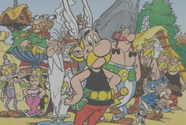 Asterix and the racing of Italy available from October 26 for Sandwiches