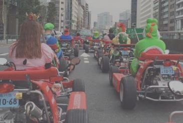 No more Mario Kart for the streets of japan. Nintendo unleashing the legal