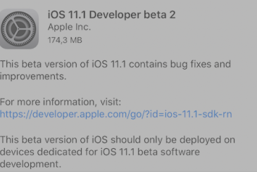 IOS 11.1 beta 2: all the new features introduced on the iPhone!