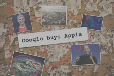 Google will buy Apple for $ 9 billion, but that is a mistake of the Dow Jones index