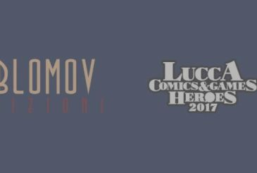 Oblomov at Lucca Comics & Games 2017 with the Ship of Theseus and the following Notebooks Japanese