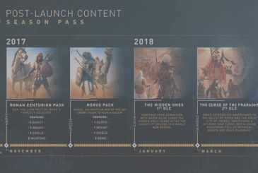 Assassin's Creed Origins: Ubisoft revealed the Season Pass and the DLC free!