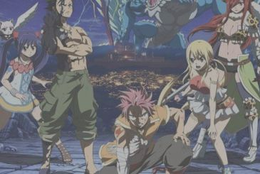 Fairy Tail, an unpublished novel with the DVD of the movie Dragon Cry
