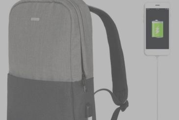 Osoce KKmoon, and the backpack is waterproof with USB port for charging