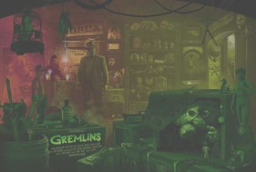 In this poster, Gremlins are hidden 84 references to as many films. Can you find them all?