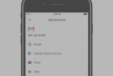 Gmail for iOS will allow you to add e-mail accounts, third-party