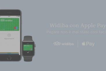 Widiba: get support for Apple Pay to the bank online!