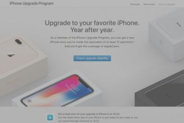 Apple is going to activate the Upgrade Program for the iPhone X