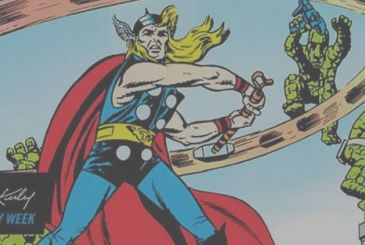 Jack Kirby drew the first version of Thor for DC Comics!