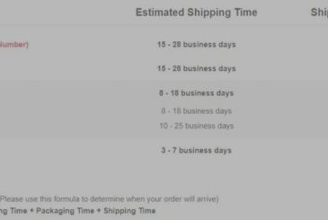 Shipping alternative in Uk Express Gearbest