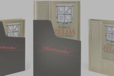 The Legend of Zelda Encyclopedia: the deluxe edition reproduces a cartridge for the NES