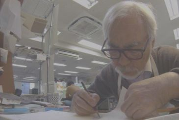 The Never Ending Man: the documentary movie about Hayao Miyazaki in the cinema on the 14th of November